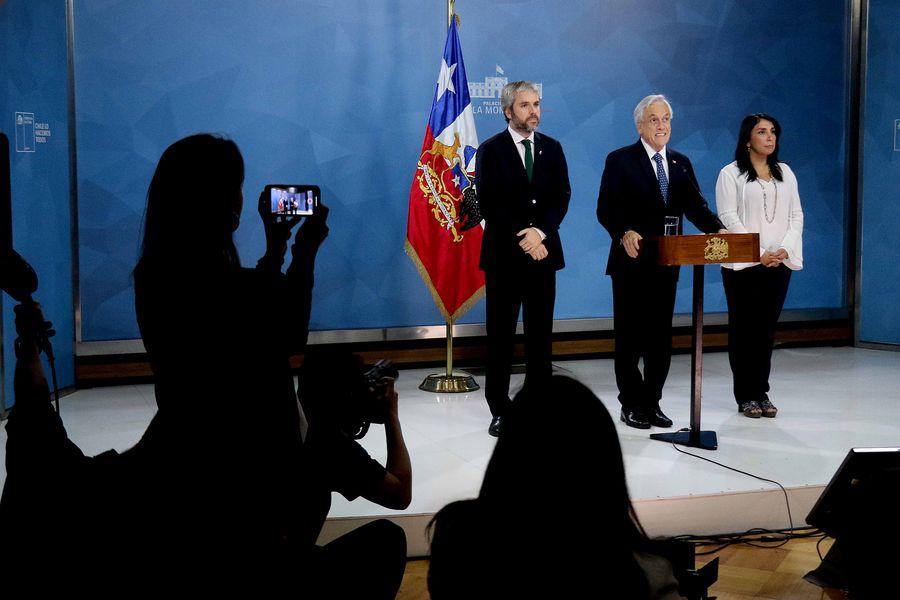 Piñera Conferencia Prensa