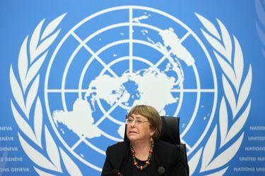 """Bachelet expresa preocupación por """"militarización fronteriza"""" en Chile, expulsión de migrantes y """"uso excesivo de la fuerza"""" en protestas"""