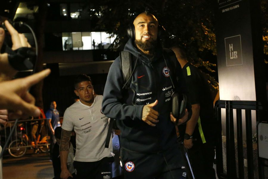Arturo Vidal | La Roja llega a Sao Paulo