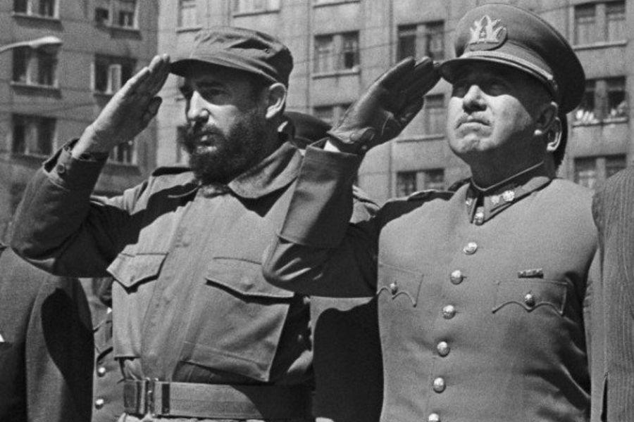 Castro y Pinochet