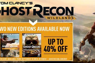 Fin de semana gratuito de Tom Clancy's Ghost Recon Wildlands