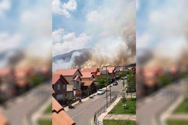 Incendio Puente Alto