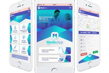 Lanzan aplicación para agendar visitas médicas a domicilio