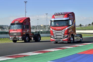 Iveco destapó el camión S-Way TurboStar Special Edition, homenaje al recordado modelo ochentero