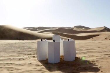 """Intervención artística tocará """"Africa"""" de Toto en el desierto de Namibia"""