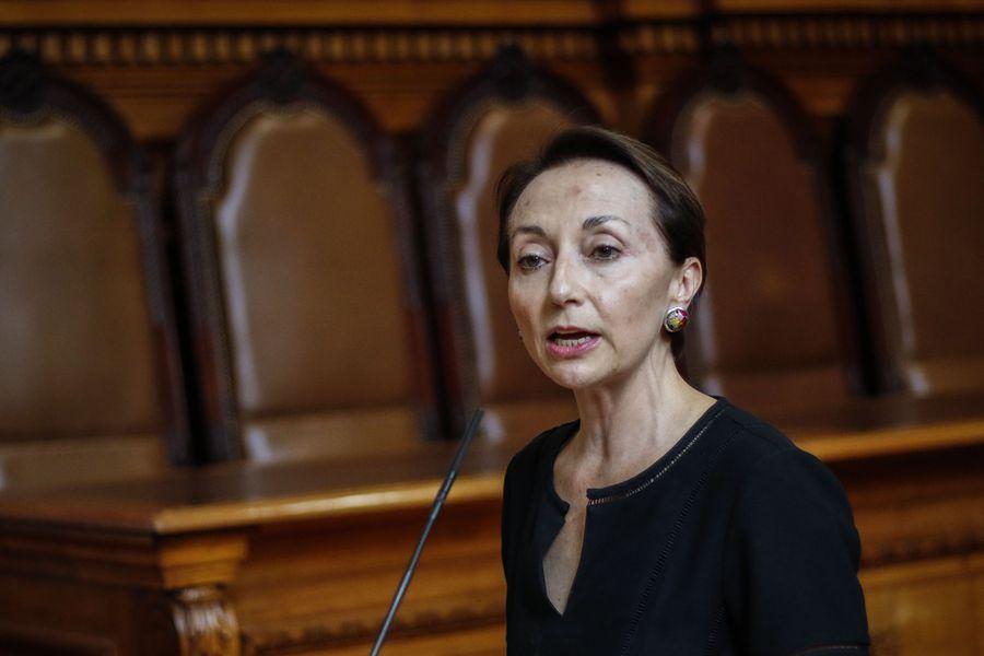 Gloria Ana Chevesich, vocera de la Corte Suprema.