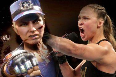 Basurean el desempeño de Ronda Rousey en Mortal Kombat 11