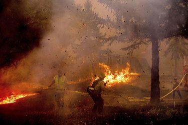Incendios forestales en la costa oeste de EE.UU. afectan más de dos millones de hectáreas
