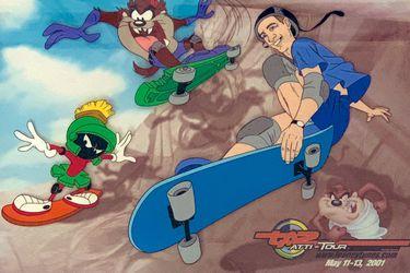 Tony Hawk estuvo a punto de protagonizar una secuela de Space Jam basada en el skate