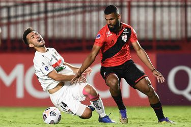 Palestino no pudo vencer a Goianiense, en Brasil, por la Sudamericana.
