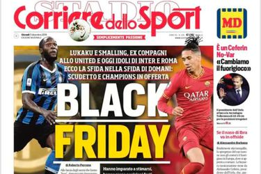 Black Friday, Corriere dello Sport