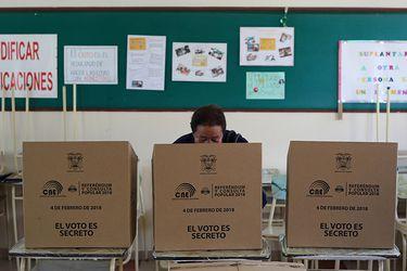 Referéndum en Ecuador
