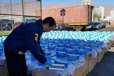 """PDI: bandas narcos amplían su """"rubro"""" al contrabando de cigarrillos"""