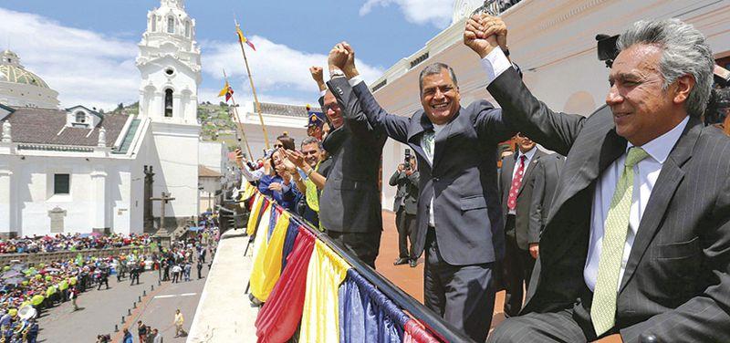 Rafael Correa y Lenin Moreno, ecuador