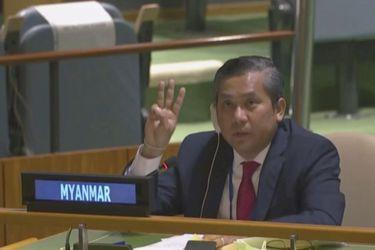 La junta militar de Myanmar destituye al embajador ante la ONU por condenar el golpe de Estado