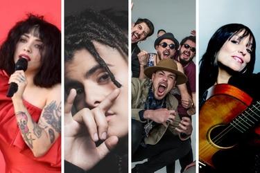 musicos collage