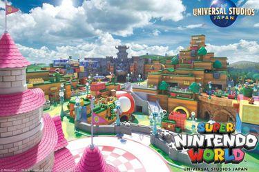 El parque Super Nintendo World abrirá sus puertas en febrero del 2021