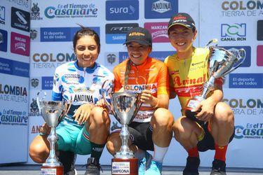 Aranza finaliza en el podio del Tour a Colombia