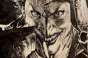 El Joker protagoniza el dibujo más reciente de Jim Lee para recaudar fondos