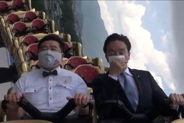 Montañas rusas sin gritos: La respuesta ante el coronavirus de un parque de diversiones en Japón
