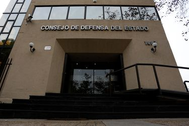 Fachada del Consejo de Defensa del Estado