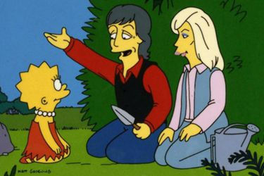 """Director de Los Simpson asegura que Paul McCartney """"siempre comprueba"""" que Lisa todavía es vegetariana"""