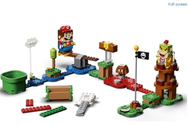 Anuncian fecha y precios de los sets de Lego de Super Mario