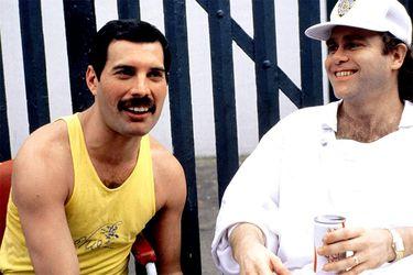 Freddie Mercury Elton John 2