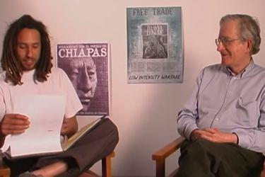 """Zack de la Rocha y Noam Chomsky en el MIT: """"La globalización fue diseñada para los intereses de inversionistas y propietarios"""""""