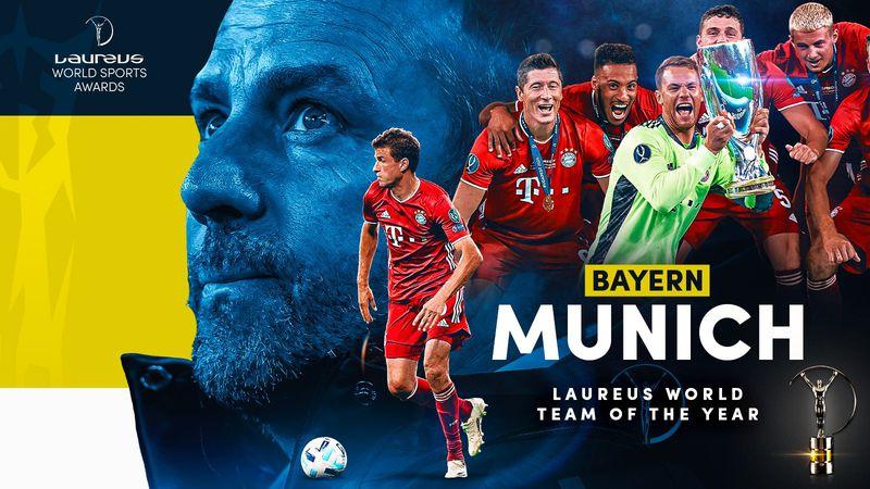 El Bayern Múnich se quedó con el premio al mejor equipo del año de los premios Laureus.