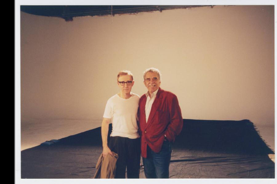 Woody Allen y Gabriel García Márquez.