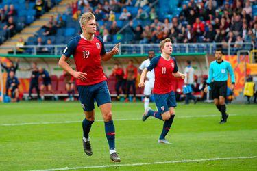 Delantero noruego bate récord al anotar nueve veces en goleada sobre Honduras
