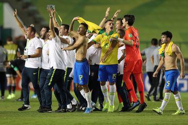 Brasil vence en la agonía a México y se consagra en casa