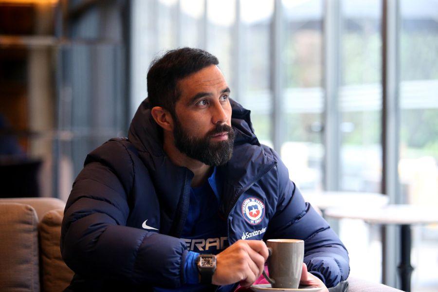 El capitán de la Selección estuvo hasta el miércoles en un hotel con la Roja, por protocolo sanitario.