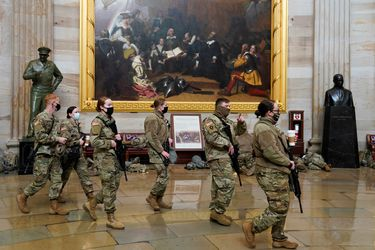 20 mil miembros de la Guardia Nacional: Capitolio es resguardado a días del cambio de mando