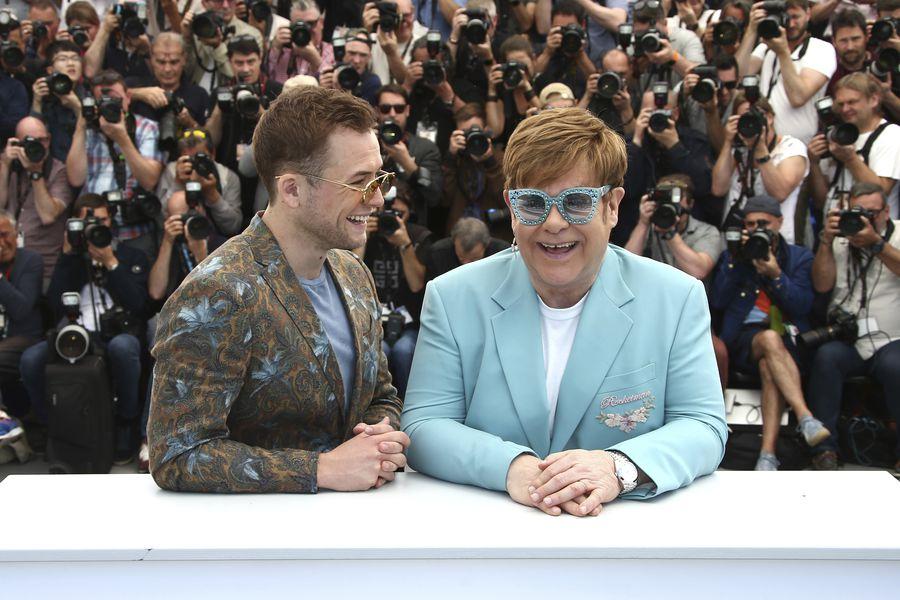 Taron Egerton,Elton John