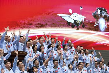 En histórica misión, China llega por primera vez a Marte: la sonda Tianwen-1 aterrizó con éxito