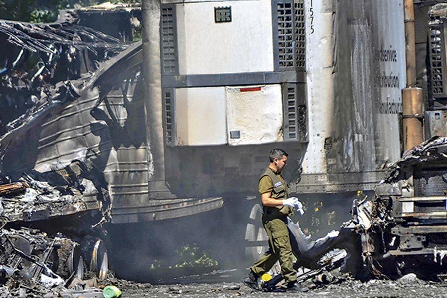 quema camiones