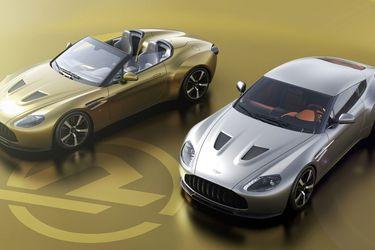 Aston Martin y Zagato celebran 60 años de colaboraciones con una atractiva pareja de V12 Vantage