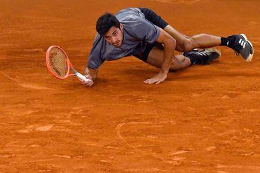 Garin se desploma totalmente y deja escapar el hito de una semifinal en Madrid