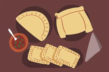 Empanadas de pino: una selección personal