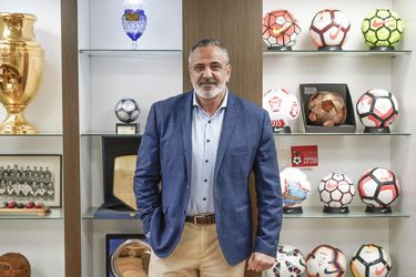 """Pablo Milad, presidente de la ANFP: """"Vamos a mandar árbitros a capacitar a Brasil y los brasileños van a venir a arbitrar acá"""""""