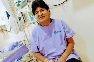 Evo Morales recibió el alta medica tras doce días hospitalizado por Covid-19