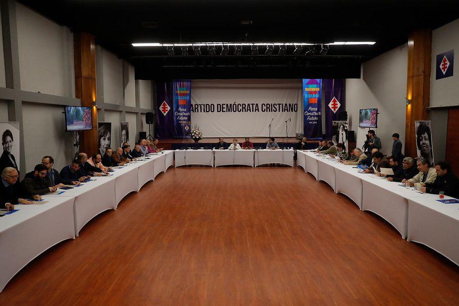 Pleno nacional DC