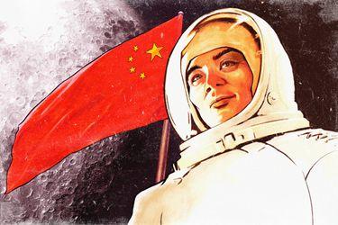 El rápido salto espacial de China con miras a la Luna y Marte