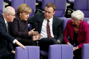 Partido de Angela Merkel posterga congreso para elegir nuevo presidente a raíz del coronavirus