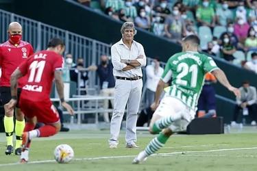 Frustración para Pellegrini y Bravo: al Betis le empatan un partido increíble
