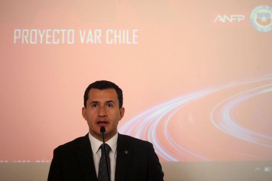 Enrique Osses, ANFP VAR