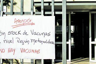 Consultorios registran escasez de vacunas contra influenza
