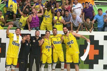Universidad de Concepción es el primer finalista de la Liga Nacional